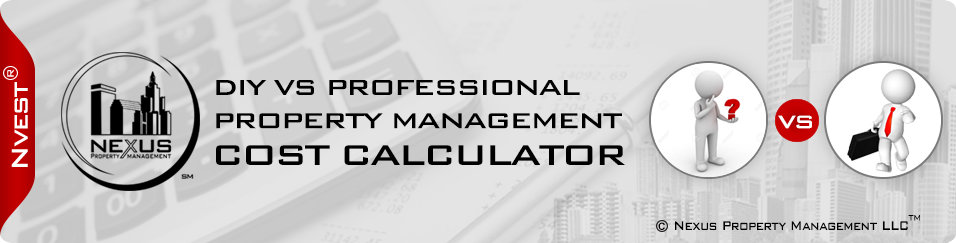 Landlord Do It Yourself Calculator vs Professional Property Management
